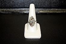 Lady's 14K Yellow Gold Diamond Ring (28)