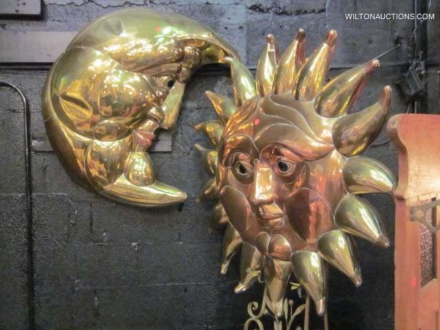 SERGIO BUSTAMANTE COPPER & BRASS SUN
