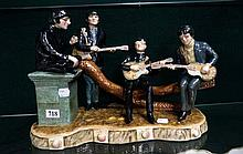 Large Legends of Rock & Roll figure of The Beatles