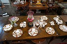 R/Albert old country roses dinner set plus many