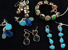 Assorted American & Australian costume jewellery