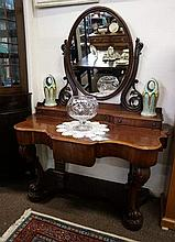 Vic mahogany duchess dressing table