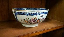 Chinese antique Famile rose export ware bowl