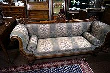Gerogian Regency Mahogany double ended couch