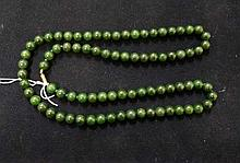Vintage Jade bead necklace
