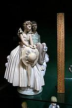 Lladro large Ltd Edition group of lovers by Norman