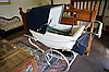 1960's Silver Cross Retro chrome pram with