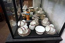 Assorted china inc tea sets, R/doulton etc