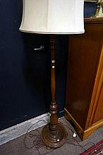 Blackwood standard lamp
