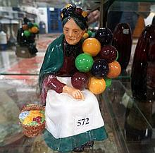 R/Doulton figure, The old Balloon seller HN 1315