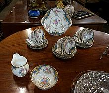 Shelley Sheraton 21pc tea set