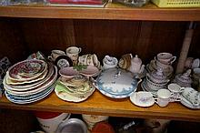 Assorted china inc 2 Vic part childs tea sets etc