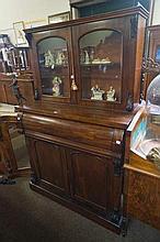 Vic mah low secretaire bookcase