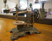 Vic childs Singer sewing machine