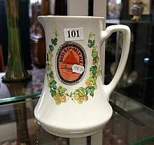 Early C20th R/Doulton Bass & Co advertising pale ale jug
