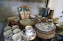 Assorted English china inc Doulton, Worcester Beswick etc