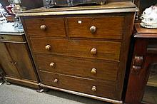 Vic cedar 5 drawer chest