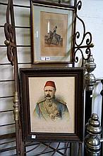 Gerneral Gordon print by Froedel Melbourne & 6th Dragoon Gaurds print