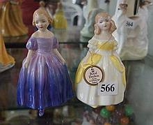 2 R/Doulton figures, Marie HN 1370 & Penny HN 2414