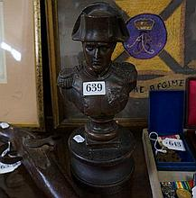 C19th Spelter bust of Napoleon
