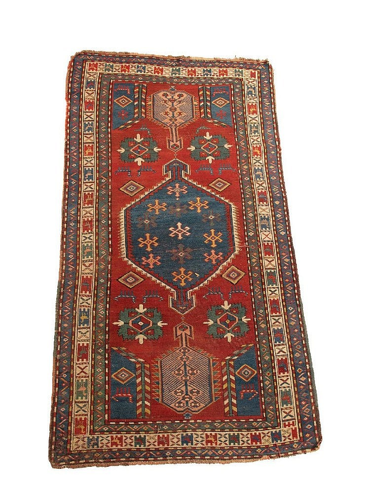 A Karabakh rug, south west Caucasus, late 19th