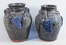 Southern Stoneware Grape Jars
