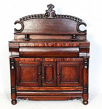 Miniature American Classical Walnut Sideboard