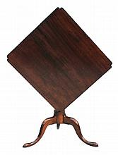 Federal Cherry Tilt-Top Table