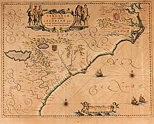 Early Map of the American Southeast