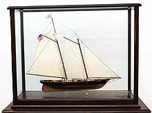 Large Scale Model of the Schooner Yacht  America