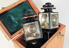 Pair of Late 19th Century Carriage Lanterns