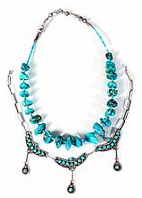 Southwestern Native American Turquoise Necklaces