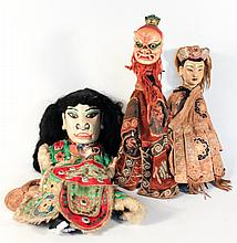 Antique Chinese Opera Dolls or Puppets