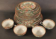 Assorted Group Rose Medallion Chinese Export