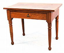 Late Federal Cherry Worktable