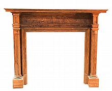 Southern Yellow Pine Fireplace Mantel