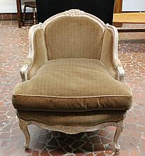 French Style Upholstered Easy Chair