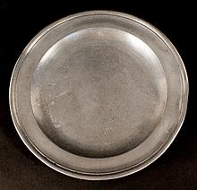 Compton of London Early Pewter Plate