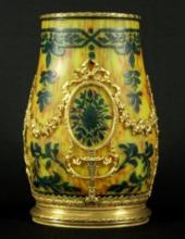 Art Noveau Cameo Glass Vase