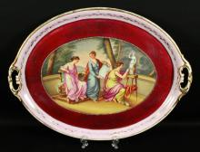 ROYAL VIENNA PORCELAIN TRAY