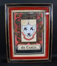 FRAMED ARMIS ET ARTIBUS DE CARLE ART