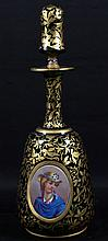 BOHEMIAN DECANTER WITH TOP