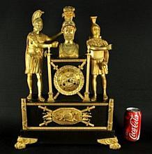 19th Cent Empire Style Clock