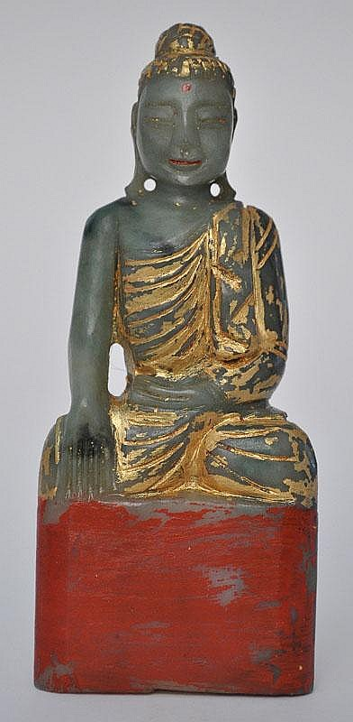 A Jade Seated Buddha