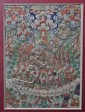 A Thangka Painting of Lamas