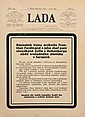 "SARAJEVO ASSASSINATION 1914. Title page of ""Lada"