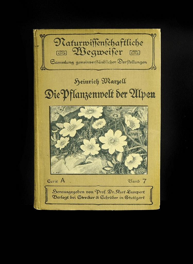 PAIR OF BOOKS ABOUT THE GERMAN FLORA