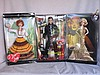 Three Mattel Celebrity NRFB Dolls:- Elvis