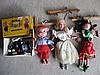 Boxed Pelham Puppet Theatre & 4 puppets