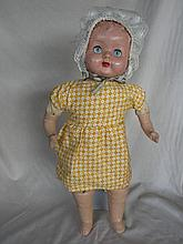 Australian 1940s Composition Girl 50cm doll